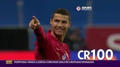 CR7 bate recorde em vitória de Portugal sobre a Suécia na Liga das Nações - CR7 bate recorde em vitória de Portugal sobre a Suécia na Liga das Nações