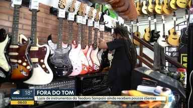 Comerciantes da rua Teodoro Sampaio sofrem com efeitos da pandemia - Retomada está sendo lenta, segundo os lojistas.