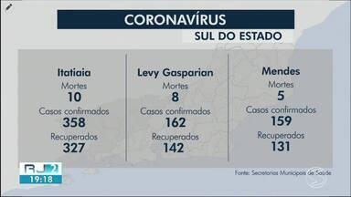RJ2 atualiza casos de coronavírus no Sul do Estado - Angra dos Reis, Mendes e Paraty registraram mortes pela doença nesta quinta-feira.