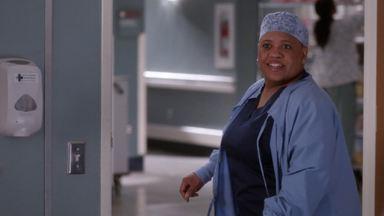 Sorria - Link tenta convencer Amelia a pegar leve durante o estágio final de sua gravidez. Hayes faz uma pergunta surpreendente a Meredith. Owen descobre algo chocante.