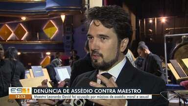 Maestro do ES é acusado por músicos de assédio moral e sexual - Veja na reportagem.