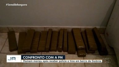 Homem é morto após confronto com a polícia, em Goiânia - Segundo a polícia, o homem é suspeito de tráfico de drogas.