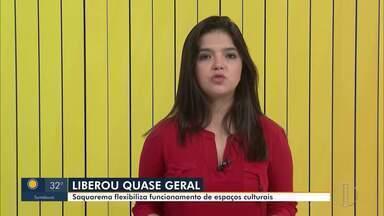 Decreto autoriza retomada parcial de atividades culturais em Saquarema, no RJ - Alguns estabelecimentos poderão funcionar mas devem seguir medidas de restrição.