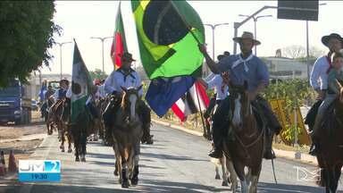 Desfile abre a Semana Farroupilha em Balsas - O repórter Gil Santos tem mais informações.