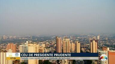 Feriado em Prudente será de calor e umidade do ar baixa - Confira a previsão do tempo para o Oeste Paulista.