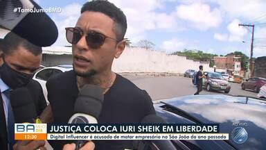 Justiça concede habeas corpus para digital influencer que matou empresário no recôncavo - O crime aconteceu no ano passado, em Santo Antônio de Jesus.