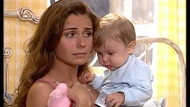 Capitu recusa programa - Ela prefere passar a véspera de natal com o filho