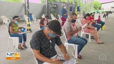 Parentes de pessoas que testaram positivo para Covid-19 podem fazer teste gratuitamente - Exame está disponível para agendamento online e é realizado em unidades de saúde do Recife e em postos de testagem. Ceasa é um dos pontos.