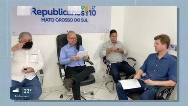 Republicanos faz convenção em Campo Grande para a oficialização de candidaturas - Republicanos faz convenção em Campo Grande para a oficialização de candidaturas