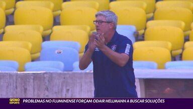 Odair Hellmann busca soluções para os problemas no Fluminense - Odair Hellmann busca soluções para os problemas no Fluminense