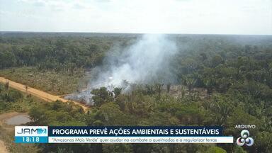 Governo lança programa Amazonas Mais Verde - Meta é reduzir desmate
