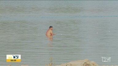 Após 30 dias, termina o período oficial de veraneio em Imperatriz - A prefeitura da cidade já começou a desmontar a estrutura nas praias do Cacau e do Meio, no Rio Tocantins.