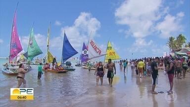 Pernambuco tem aumento de atividades turísticas pela primeira vez após início da pandemia - No feriadão da Independência, Porto de Galinhas atingiu média de ocupação de 80%.