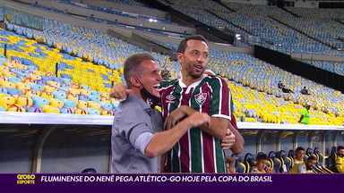 Velhos amigos, Nenê e Mancini se reencontram pela Copa do Brasil - Velhos amigos, Nenê e Mancini se reencontram pela Copa do Brasil