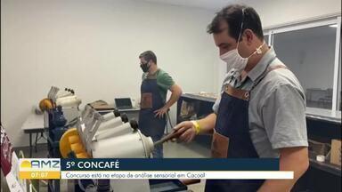 Nova fase do 5º Concafé acontece em Cacoal - Concurso está na etapa de análise sensorial