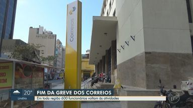 Trabalhadores dos Correios na região aprovam fim da greve e voltam com as atividades - Decisão pelo fim do movimento ocorreu em assembleia após o TST aprovar, na segunda-feira (21), reajuste de 2,6% nos salários da categoria.