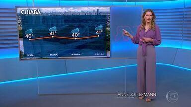 Maior parte do país terá calor e tempo seco - Confira a previsão do tempo para esta quinta-feira (24).