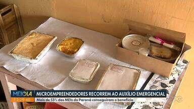 Microempreendedores recorrem ao auxílio emergencial - Mais de 53% dos MEIs do Paraná conseguiram o benefício.
