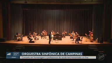 Orquestra Sinfônica de Campinas faz homenagem à profissionais da saúde em concerto - Apresentação será na Concha Acústica do município neste domingo (27).