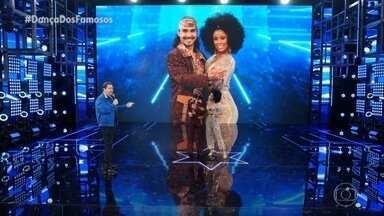 Domingão do Faustão   André Gonçalves se apresenta no 'Dança dos Famosos'   Globoplay