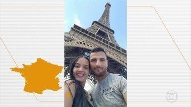 Brasileira é morta na França e o marido é o principal suspeito - Uma brasileira de 29 anos foi morta na França e o marido é o principal suspeito. A imprensa francesa noticiou que ele admitiu o crime. Os dois filhos de Franciele Alves estão sob guarda da justiça francesa.