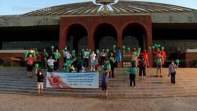 Moradores fazem mobilização em prol da doação de órgãos em Palmas - Moradores fazem mobilização em prol da doação de órgãos em Palmas