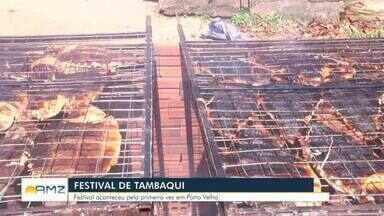 Festival de Tambaqui é realizado em dez cidades do estado - Essa é a primeira vez que o festival é realizado em Rondônia. A primeira foi feita em Brasília-DF.