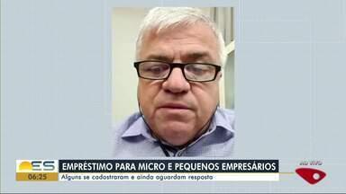 Microempresários ainda aguardam para receber empréstimo oferecido pelo governo do ES - O diretor-presidente da Aderes, Alberto Farias Gavini Filho, fala sobre o assunto.