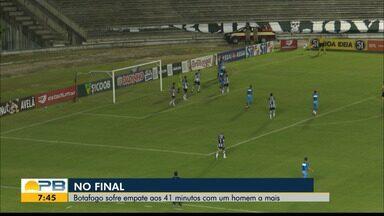 Botafogo-PB 1 x 1 Paysandu, pela rodada #8 da Série C - Belo e Papão empatam no Almeidão