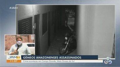 Polícia investiga mortes de irmãos gêmeos amazonenses em Campo Grande, em RS - Eles foram executados com ao menos dez tiros.