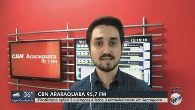Após assaltar pizzaria, ladrão rouba moto e faz disparo em Araraquara - Veja as informações com Milton Filho, da CBN.