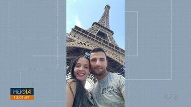 Paranaense é morta na França e marido é o principal suspeito - Franciele Alves, de 29 anos, foi morta no apartamento em que o casal morava em Paris.