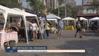 Feira valoriza a cultura afro-brasileira em Santos - Estação da Cidadania voltou a receber eventos.
