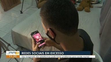Redes sociais em excesso - Uso exagerado das plataformas digitais pode trazer problemas para saúde mental