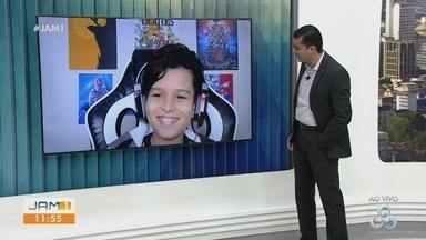 Vinne Ramos está na semifinal do The Voice Kids - Cantor empolgou o público com performance de 'Galopeira'.