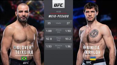 UFC Vancouver: Glover Teixeira x Nikita Krylov - Luta entre Glover Teixeira x Nikita Krylov, válida pelo UFC Vancouver, em 14/09/2019.