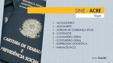 São 17 vagas abertas em Rio Branco nesta terça-feira (29) - São 17 vagas abertas em Rio Branco nesta terça-feira (29)