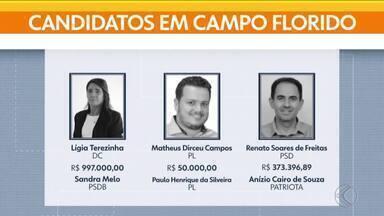 Eleições 2020: veja quem são os candidatos a prefeito de Campo Florido e Água Comprida - Em Campo Florido, Lígia do Sebastião (DC), Matheus (PL) e Renatinho (PSD) devem concorrer ao Executivo. Em Água Comprida, os candidatos são Marola (PSDB), Virgulino (Republicanos) e Zico (PL).