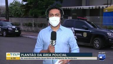 Plantão policial: confira as informações da polícia desta terça-feira - Veja ocorrências registradas.