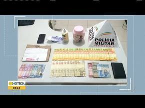 Jovem é preso com mais de R$ 900 em cédulas falsas em Caraí - Rapaz contou que comprou notas pela internet.