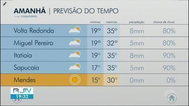 Último dia de setembro será de tempo quente na região - Confira a previsão do tempo para esta quarta-feira (30).