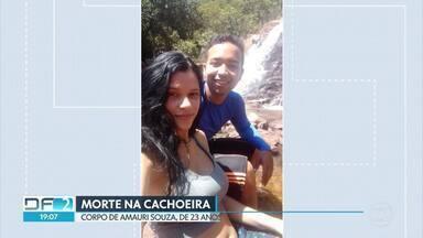 Corpo de jovem assassinado em cachoeira será enterrado amanhã - Amauri Rodrigues Souza tinha 23 anos e voltava de um passeio numa cachoeira quando foi rendido por um bandido que queria a bicicleta dele.