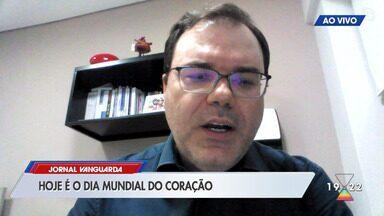 Presidente de associação de cardiologia ressalta importância dos cuidados com o coração - Confira reportagem do Jornal Vanguarda desta terça-feira (29).