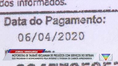 Motoristas de Taubaté reclamam de prejuízo com serviços do Detran - Confira reportagem do Jornal Vanguarda desta terça-feira (29).