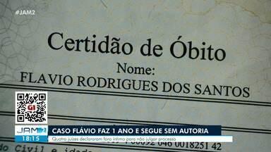Caso Flávio completa 1 ano sem autoria de assassinato - Quatro juízes declararam foro íntimo para não julgar processo