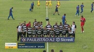 São Caetano conquista acesso com virada sobre o XV e volta ao Paulistão - Azulão venceu por 2 a 1 e retornou à elite estadual um ano depois de cair; Nhô Quim ficou no quase pela terceira temporada consecutiva.