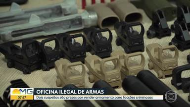 Polícia prende suspeitos de fornecerem armas para traficantes - Um deles contou aos investigadores que aprendeu a contrabandear armas nos Estados Unidos.