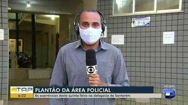 Plantão policial: Confira as ocorrências registradas na delegacia de Santarém - Duas pessoas morreram na quarta-feira (30) após sofrerem acidentes de trânsito.