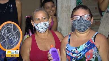 Moradores de São Cristóvão reclamam sobre infestação de muriçocas - Moradores de São Cristóvão reclamam sobre infestação de muriçocas.