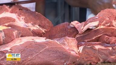 Preço da carne sobe mais de 40% em Sergipe - Preço da carne sobe mais de 40% em Sergipe.